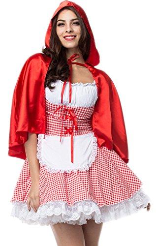 Alivila.Y Fashion Womens Sexy Red Riding Hood Halloween