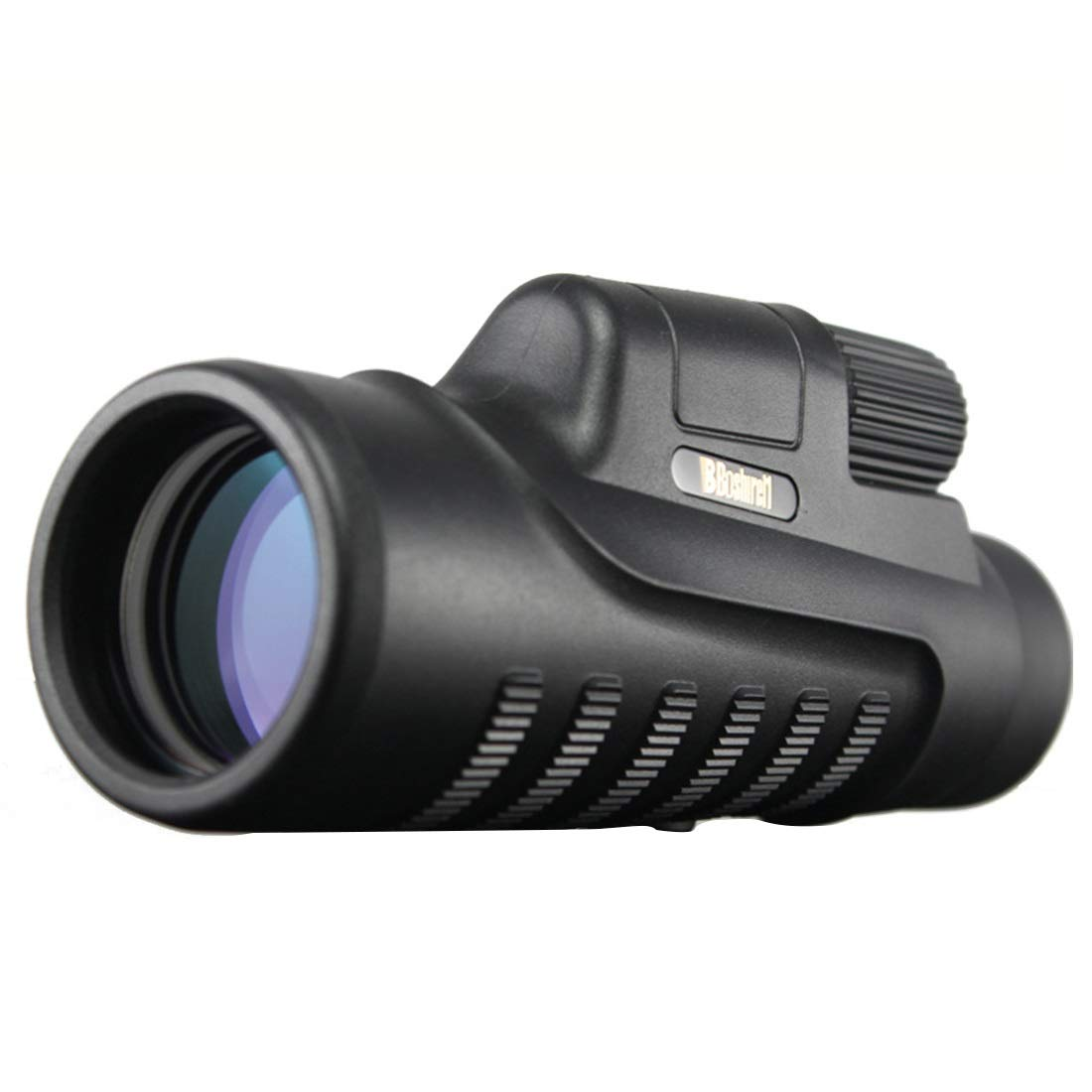 ZGQA-GQA 10x42 High Powered Zoom Monocular - Waterproof and Fog-Proof Telescope FMC BAK4 Prism for Concerts Traveling, Wildlife Scenery for Adult (Color : Black) by ZGQA-GQA
