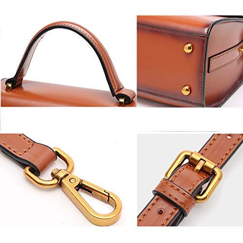 Sac en cuir de rétro Bags à Sac pour main tout fourre Système Gloozd Sac abricot femmes à à bandoulière Noir bandoulière simple couleurs nXIHxOdwT