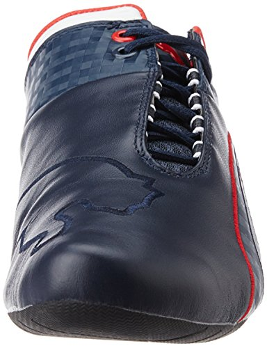 Puma Bmw Ms Future Cat M1, Unisex-erwachsene Sneakers Blau (bmw Team Blue-high Red Red 01)