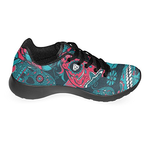 Shoes Lightweight Womens Go Running Sneaker Multi 11 InterestPrint Jogging Running Easy Comfort Casual Walking xPTAqZwfI