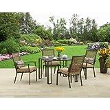 Amazoncom Better Homes Gardens Patio Furniture Sets Patio - Better homes and garden patio set