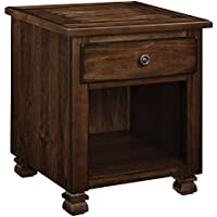 Ameriwood Home 3608196COM San Antonio Veneer Wood End Table, Espresso