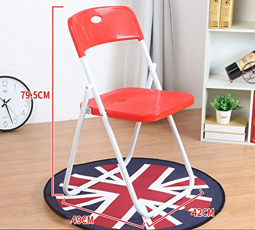 Folding Chair Silla Plegable YUHAO(UK) de plastico, Multicolor Opcional,
