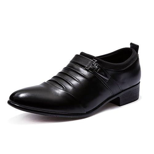 c4437b0a Zapatos para Hombre Zapatos De Vestir Salvajes Estilo Inglés Informal:  Amazon.es: Zapatos y complementos