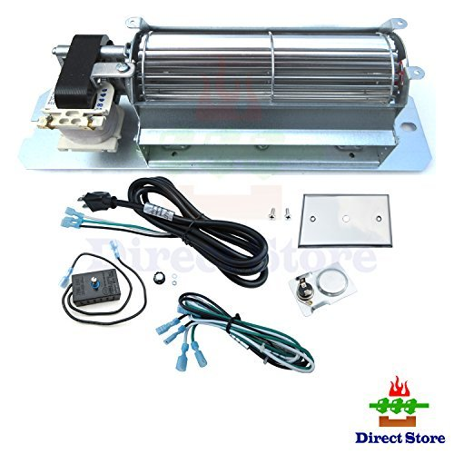Direct store Parts Kit DN106 Replacement Fireplace Blower Fan Kit GZ550 for Continental Napoleon (Napoleon Blower Kit)