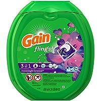 Gain Flings Moonlight Breeze Laundry Detergent Packs 81 Count