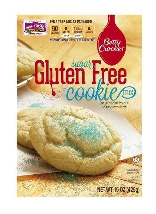 Betty Crocker - Gluten Free Sugar Cookie Mix 15 Oz (Pack of 2)