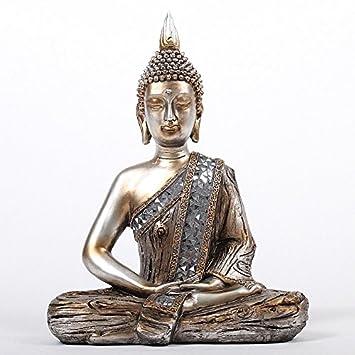 Feng Shui Dekoration amazon de deko asien garten buddha figur statue skulptur feng shui