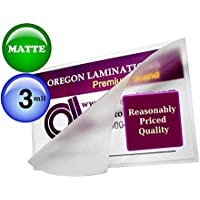 3 Mil Matte Hot Letter Laminating Pouches 9 x 11-1/2 [Pack of 25]