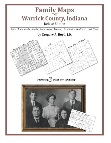 Family Maps of Warrick County, Indiana