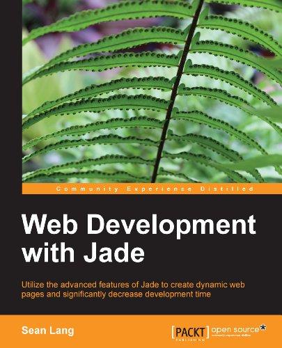 web development jade - 1