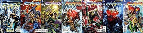 """AQUAMAN (2011) 7-13 """"""""The Others"""""""" complete story arc! COMICS BOOK"""