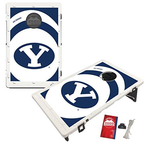 - Victory Tailgate Brigham Young University BYU Cougars Baggo Bean Bag Toss Cornhole Game Vortex Design