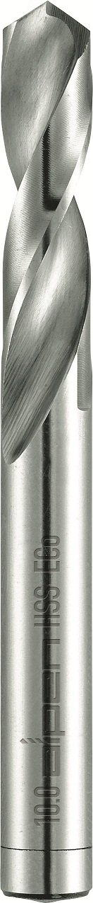 Alpen 90100690100 Cobalt Stub Drills PZ Hss-Eco WN102 Bright 6,9mm, Grey