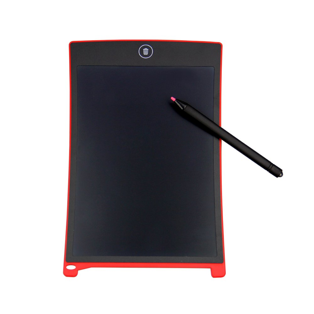 TRITINA 8.5'' Board LCD Graphics Drawing Tablet Mini Writing Tablet Writing Board as Whiteboard Bulletin Pad Memo Board With stylus((Red) by TRITINA