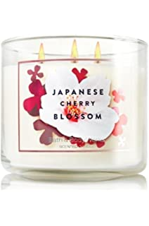Amazon bath body works white barn 3 wick candle mahogany bath body works 3 wick 145 ounce candle japanese cherry blossom sciox Images