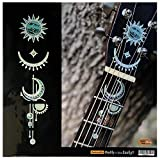 Head & Neck Inlay Stickers Decals for Acoustic