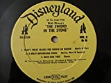 1963 Walt Disney Presents All The Songs From The Sword In The Stone Vinyl Lp