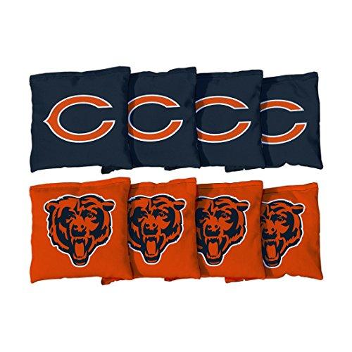 Chicago Bears NFL Cornhole Game Bag Set (8 Bags Included, Corn-Filled) - Nfl Bean Bag Toss