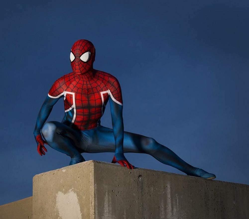 WEGCJU Spiderman Medias Disfraces De Halloween Cosplay Drawalls ...