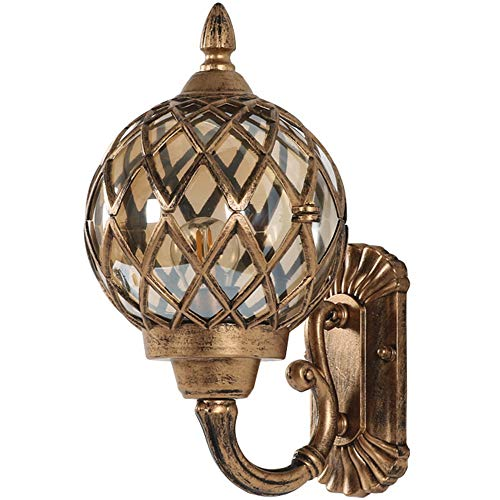 Round Outdoor Wall Light in US - 1