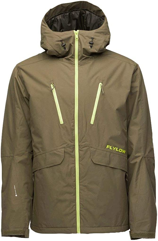 Flylow Men's Insulated Roswell Jacket - 2 Layer Synthetic Down Insulated Skiing and Snowboarding Shell