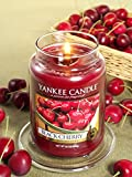 Yankee Candle Company Black Cherry Large Jar Candle