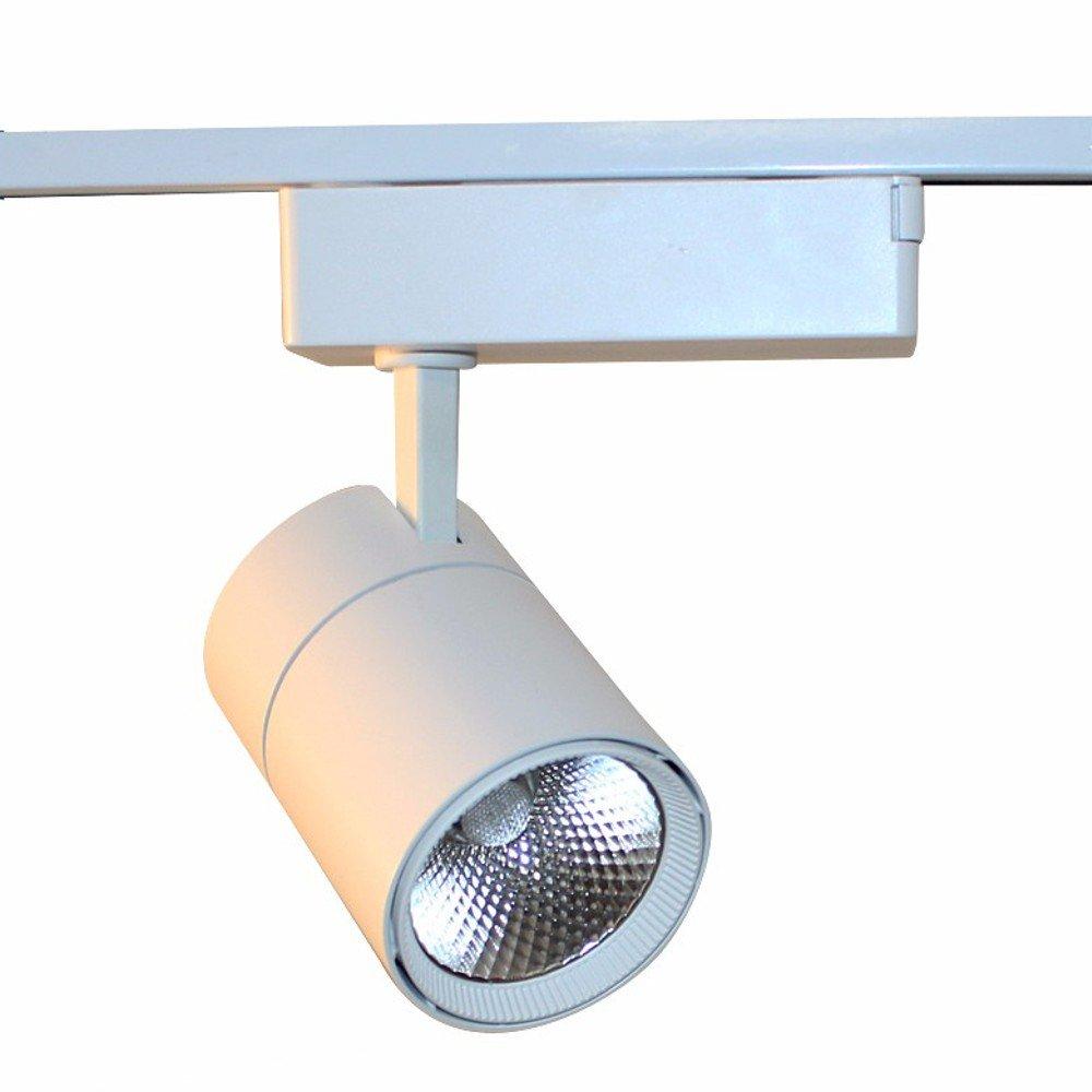 Foco LED iluminación cuadro riel trifásico Ezra CREE 20 W ...