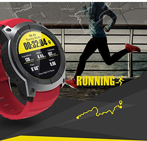 WCPZJS Smart Watch GPS S958 Smartwatch Monitor de Ritmo cardíaco ...