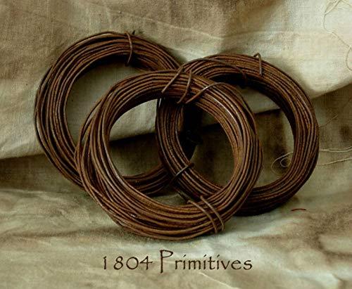 3 Rolls ~ 20 Gauge Rusty TIN Wire ~ 30ft Each