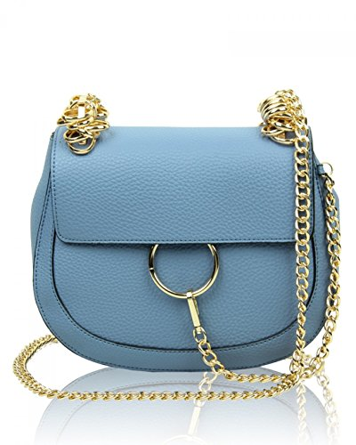Cm Handbag Cute Blue Across 5x16x12 Cross 24 Quay Great LeahWard Nice Body Women's Brand Bag Body Chic wqnaFA