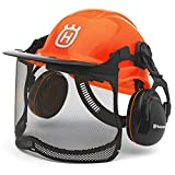 Husqvarna 577764601 Pro Forest Helmet System with Visor Hearing Protection