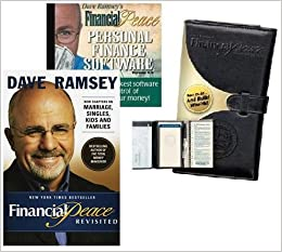 financial peace kit includes book deluxe executive envelope system