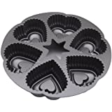 Wilton Dimensions 6-Cup Cast-Aluminum Mini-Hearts Pan