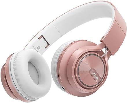 ACURE AC01 Auriculares inalámbricos Bluetooth Auriculares plegables con micrófono HD / Tarjeta TF / Modo con cable desmontable para PC TV Teléfono celular iPad MP3: Amazon.es: Electrónica