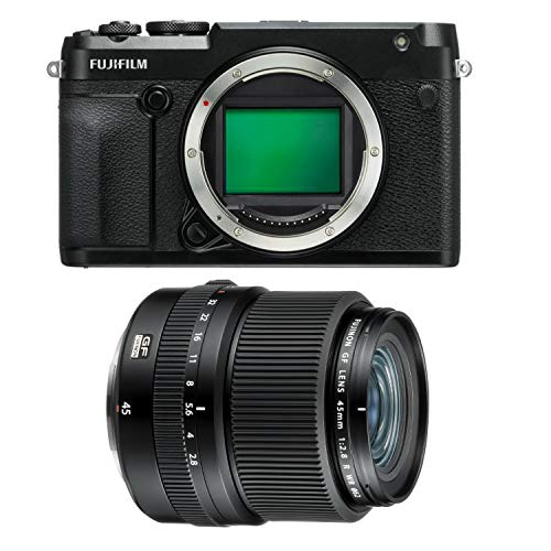 Fujifilm GFX 50R Body and GF 45mm f/2.8 R WR Lens