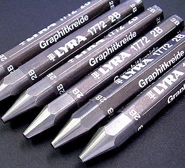 Lyra Watersoluble Graphite Crayon - Individual Stick - 6B