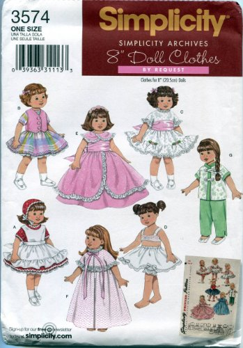 (Simplicity Sewing Pattern 3574 8