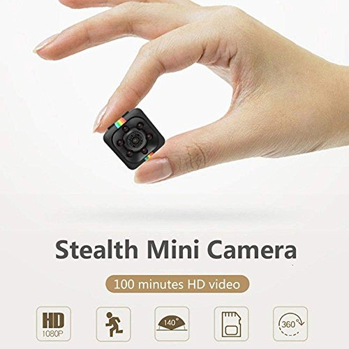 Mini Spy Camera,Wireless Hidden Cameras 1080P HD Nanny Camera Video Recorder Indoor Hidden Surveillance Cam with Auto Night Vision for Home,Office Security