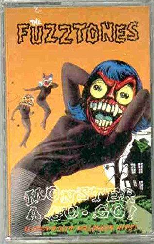 The Fuzztones ~ Monster A Go Go (Original 1992 Skreamin' Skull Records 134C CASSETTE Tape NEW Factory Sealed in the Original Shrinkwrap Includes the Song Happy Halloween ~ Features 13 Tracks ~ See Seller's Description For Track Listing With Timing)]()