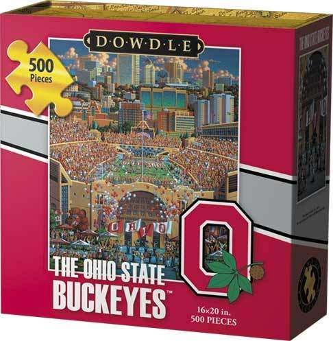 Dowdle Jigsaw Puzzle - The Ohio State Buckeyes - 500 Piece - Ohio State Historic Football
