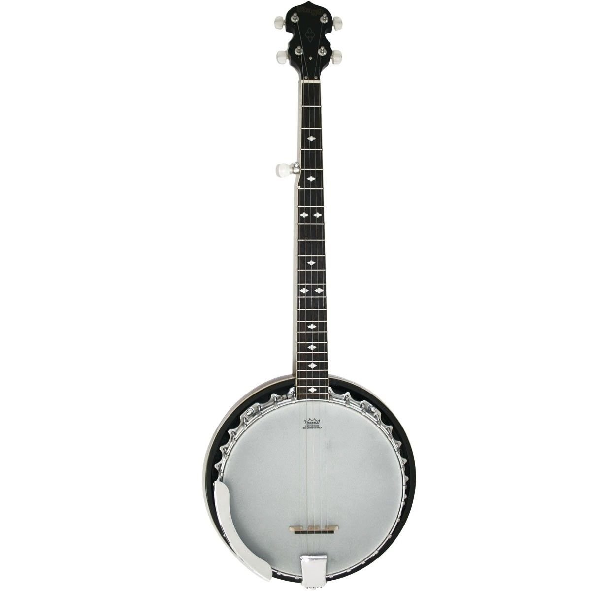 Stagg BJM30 DL 5-String Bluegrass Banjo Deluxe with Metal Pot