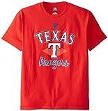 MLB Texas Rangers Men's 58T Tee, Red, Medium