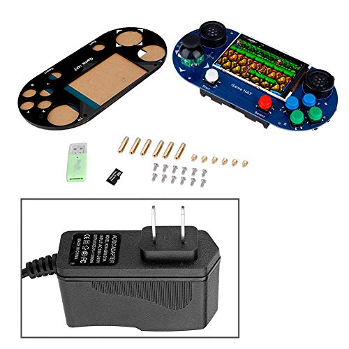 fosa Portable Handheld Raspberry Pi 3B+ Game Console 3 5-in LCD Display  Classic Video Games Childhood Classic Game Console, Applicable to Raspberry  Pi