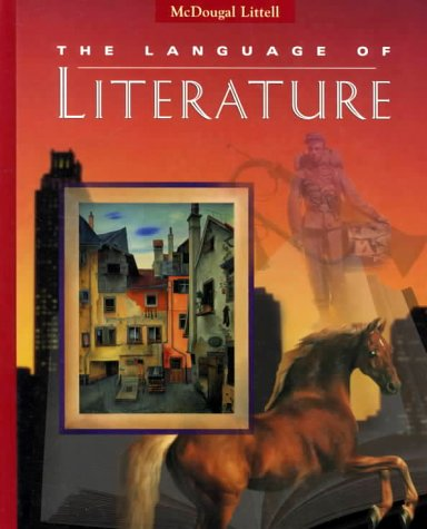 Language Of Literature 8th Grade Book By McDougal Littell