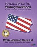 PENNSYLVANIA TEST PREP Writing Workbook PSSA Writing Grade 6, Test Master Press Pennsylvania Staff, 1478150289