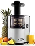 Cheap Omega Juicers VSJ843QS Vertical Slow Masticating Juicer with Quiet Motor Juicer Extractor Features Automatic Pulp Ejection Makes Fresh Fruit and Vegetable Juice at 43 RPM, 150-Watt, Silver