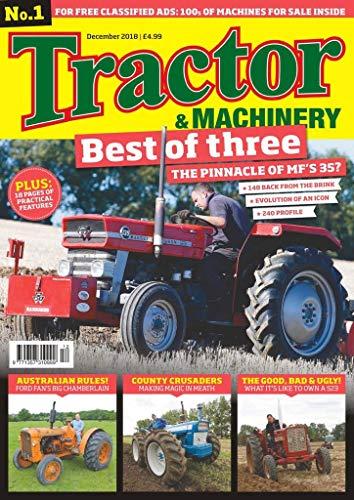 Vintage Tractors Magazine - Tractor & Machinery
