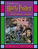 Harry Potter Stained Glass Art, Warner Bros and Warner Bros. Entertainment Staff, 0439286336
